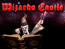 Игра на деньги на слоте Wizards Castle.